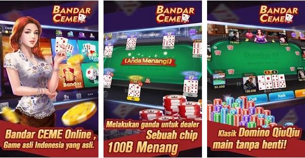 Game Kartu Bandar Ceme